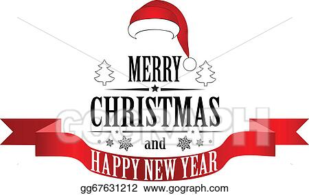 Merry Christmas Banner Clip Art Royalty Free Gograph