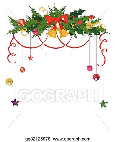 merry christmas border and decoration frame - Merry Christmas Border