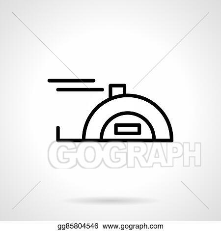 Vector Illustration - Meter tape black line vector icon. EPS Clipart ...