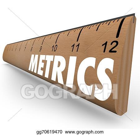 Stock Photography - Metrics word ruler measurement system