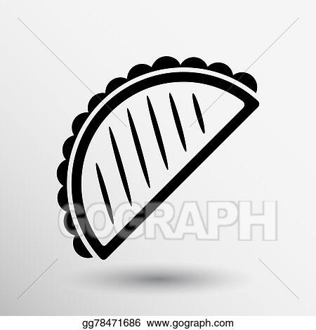 vector art mexican fast food vector logo design template tacos
