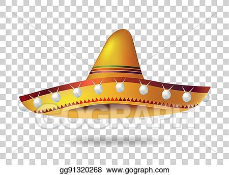 Vector Stock - Mexican sombrero hat. headwear. mexico. vector ... b2377fbcc30