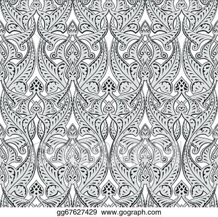 Vector Art Middle Eastern Arabic Pattern Clipart Drawing Inspiration Middle Eastern Patterns