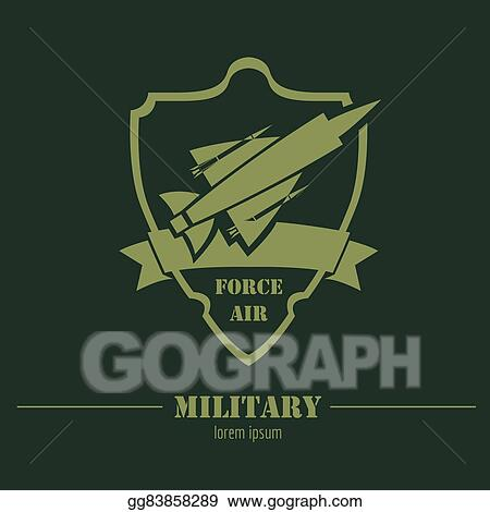 vector stock military and armored vehicles logos and badges