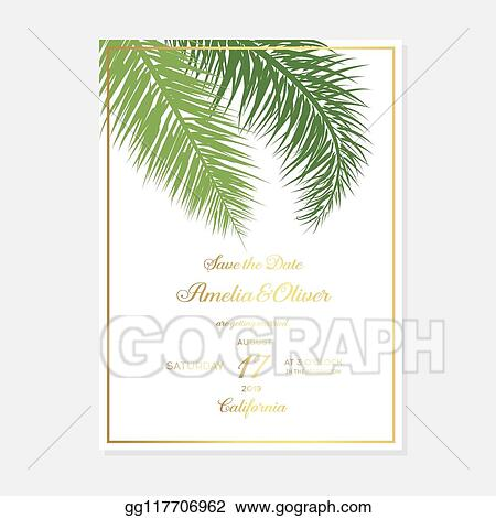 Eps Vector Minimalist Botanical Wedding Invitation Card Template Design Vector Decorative Greeting Card Or Invitation Design Background Wedding Invitation Save The Date Rsvp Invite Card Stock Clipart Illustration Gg117706962 Gograph