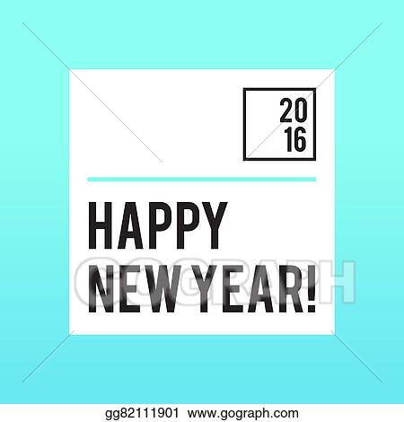 Vector Illustration Mint New Year Party Invitation Of Flyer Design