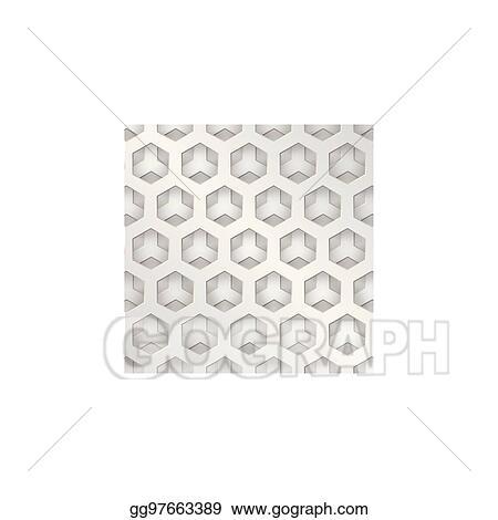 Vector Illustration - Modern background metal texture