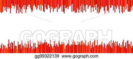 Eps Illustration Modern Banner Background Design Vector Graphic From Vertical Stripes In Red Tones On White Background Vector Clipart Gg99322139 Gograph