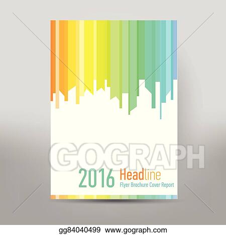 eps vector modern cover annual report brochure business brochure