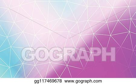Vector Stock Modern Geometrical Abstract Background With