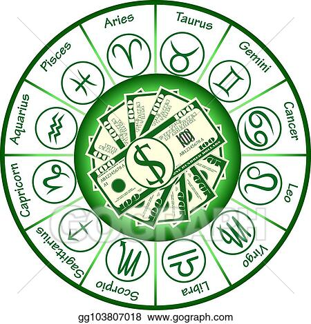 Vector Art - Money horoscope  EPS clipart gg103807018 - GoGraph