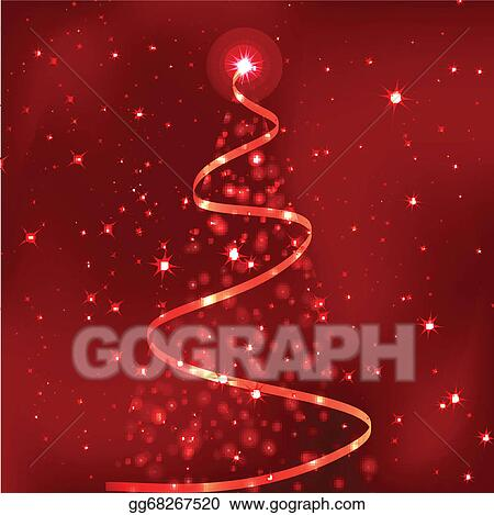 Vector Illustration - Most beautiful christmas trees . Stock Clip ...