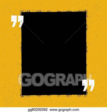 vector art motivational qute template on yellow paper texture