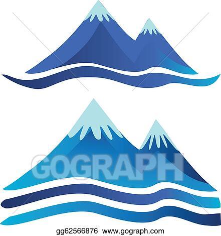 Blue Mountain Clip Art