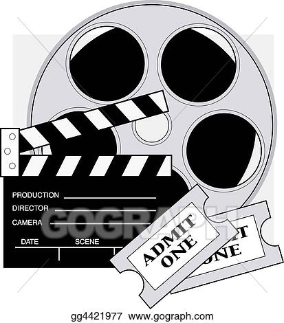 drawing movie tickets clipart drawing gg4421977 gograph