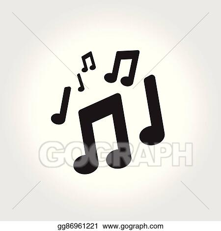 Vector Art Music Note Symbol Music Sign Flat Icon