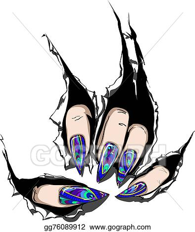 Clipart Nail Art Stock Illustration Gg76089912 Gograph