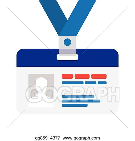 vector illustration name tag for id eps clipart gg85914377 gograph