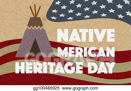 Clipart - Native american heritage day. Day after Thanksgiving named Native American Heritage Day