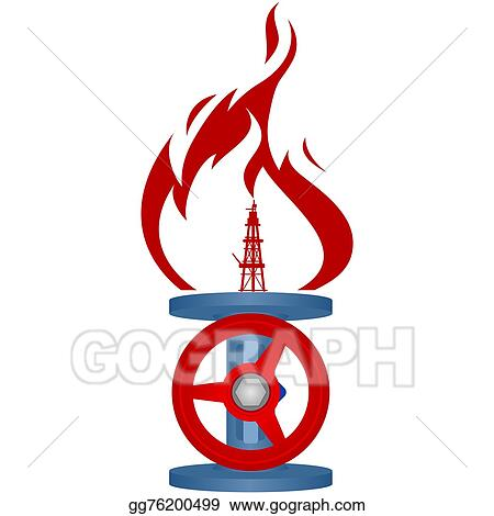 Stock Illustration Natural Gas Industry 1 Clipart Gg76200499