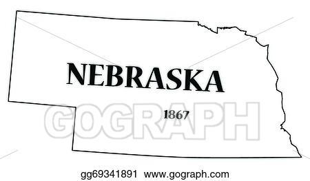 why is nebraska in black and white