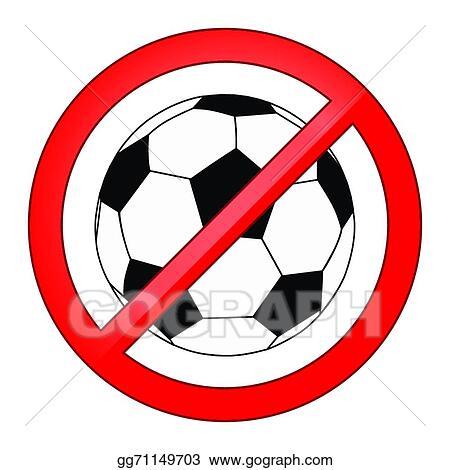 No Sports Clip Art