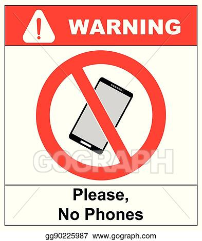 no cell phone sign mobile phone ringer volume mute sign no smartphone allowed icon no calling label on white background no phone emblem great for any
