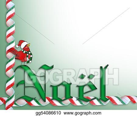 Stock Illustration Noel Christmas Card Background Clipart