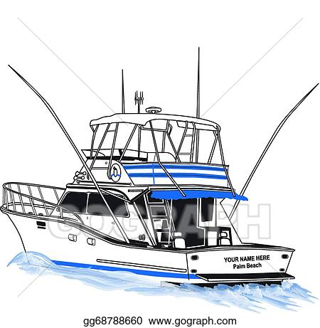 Download Sport Fishing Boat Clip Art Royalty Free Gograph