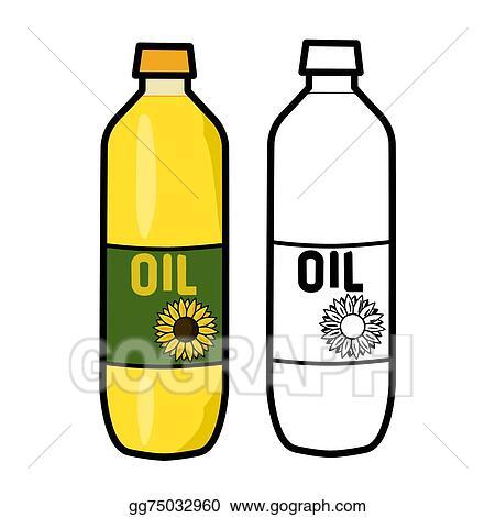eps vector oil bottle stock clipart illustration gg75032960 gograph rh gograph com Car Oil Bottle Vegetable Oil Bottle Clip Art