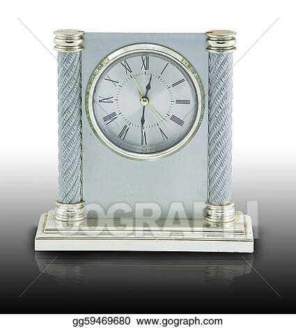 Clipart - Old analog clock  Stock Illustration gg59469680