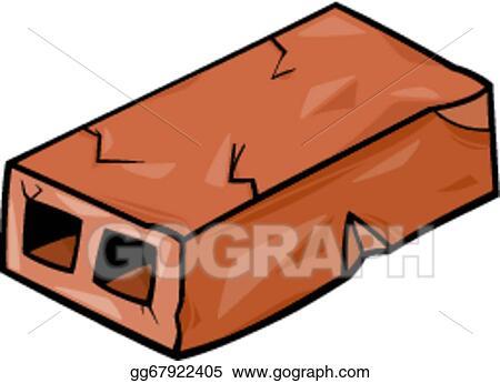 vector art old brick cartoon clip art eps clipart gg67922405 rh gograph com brick wall clipart black and white brick wall clip art free