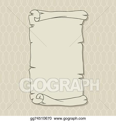 vector clipart old scroll page background for your designs and