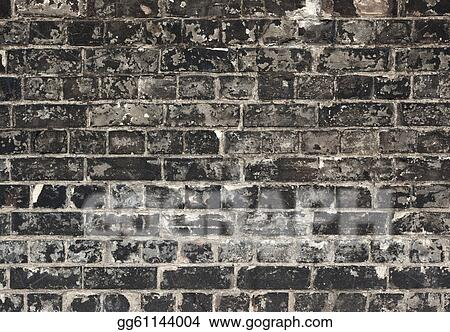 black stone wall texture wallpaper old weathered black brick wall texture close up pictures stock