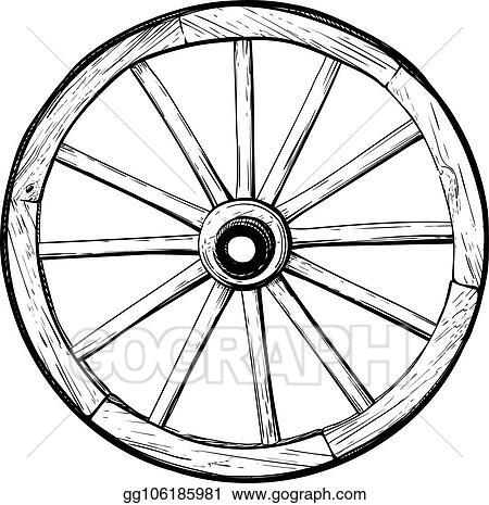 Free Wagon Wheel Cliparts, Download Free Clip Art, Free Clip Art on Clipart  Library
