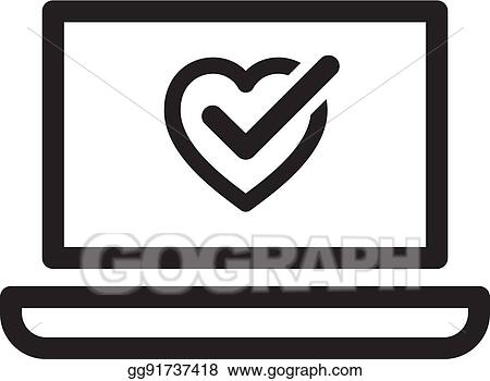 Vector Art Online Health Tests And Medical Services Icon Clipart