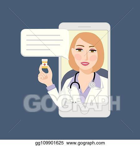 Vector Art - Online treatment  EPS clipart gg109901625 - GoGraph