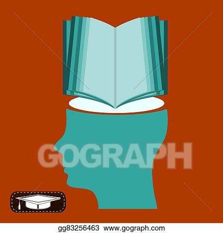 Open Book Mind Of A Student Library Symbol Education New Knowledge
