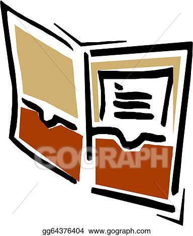 vector art open book clipart drawing gg64376404 gograph