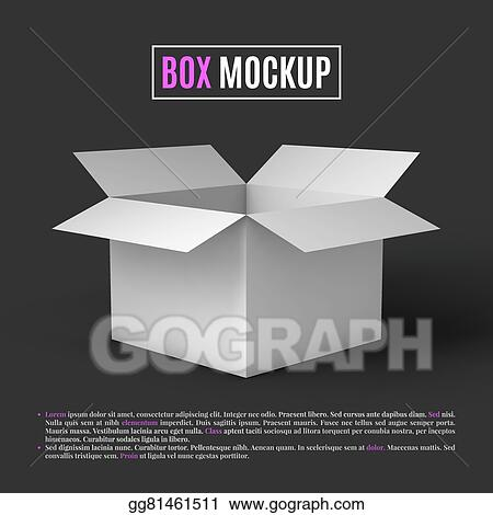 Open Box Mockup Template
