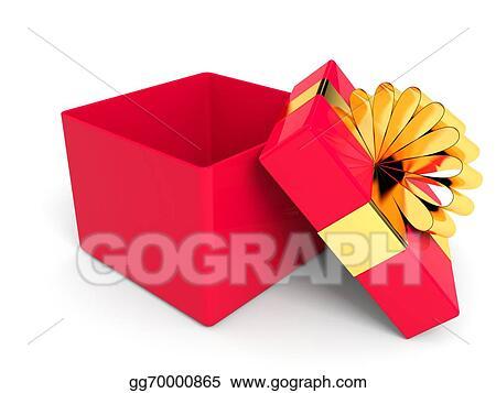 Christmas Gift Box Drawing.Drawing Open Christmas Gift Box Clipart Drawing