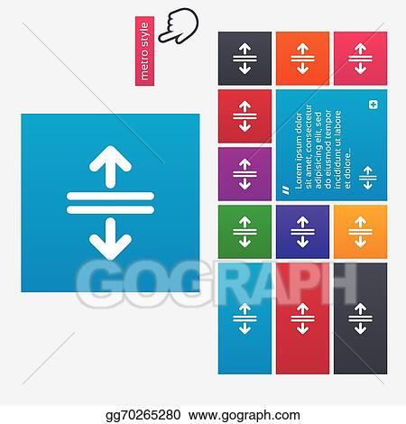 Vector Stock - Open the door sign icon  control in the