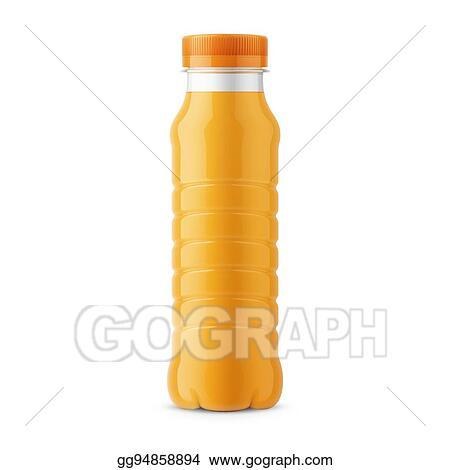 Orange Juice Bottle Template
