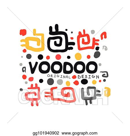 Vector Stock - Ornamental kid s style drawing voodoo magic