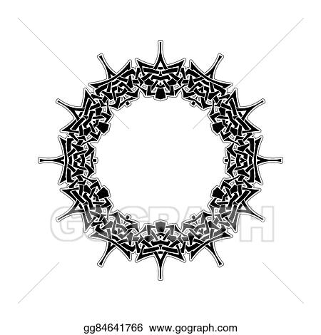 clip art ornate border gothic lace tattoo celtic weave with