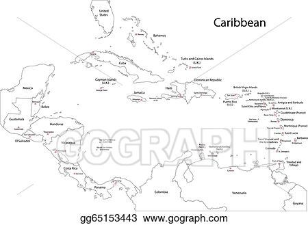 Vector Stock - Outline caribbean map. Clipart Illustration ... on puerto rico map outline, abaco map outline, armenia map outline, bhutan map outline, far east map outline, aruba map outline, greenland map outline, transatlantic map outline, mayan map outline, southern us map outline, south pacific islands map outline, pacific coast map outline, caribbean islands, europe map outline, asia map outline, anguilla map outline, saint lucia map outline, senegal map outline, montserrat map outline, appalachian mountains map outline,