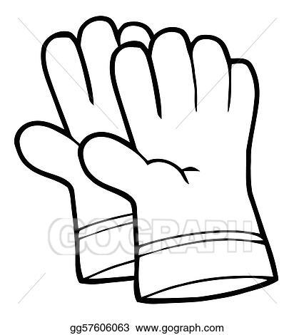 gloves clip art royalty free gograph rh gograph com glove clip art free gloves clip art black and white