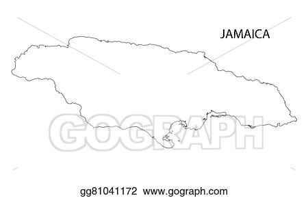Vector Art - Outline of jamaica map. Clipart Drawing ... on map of colorado drawing, map of norway drawing, map of mexico drawing, map of india drawing, map of greece drawing, map of peru drawing, map of brazil drawing, map of north america drawing, map of egypt drawing, map of ireland drawing, map of guyana drawing, map of singapore drawing, map of arizona drawing, map of fiji drawing, map of iraq drawing, map of world drawing, map of africa drawing, map of germany drawing, map of new york drawing, map of japan drawing,