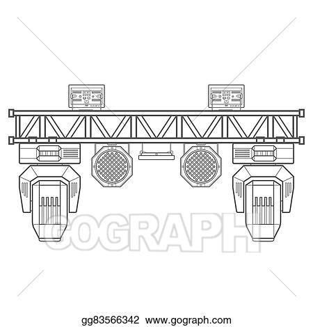 Outline Stage Metal Truss Concert Lighting Equipment