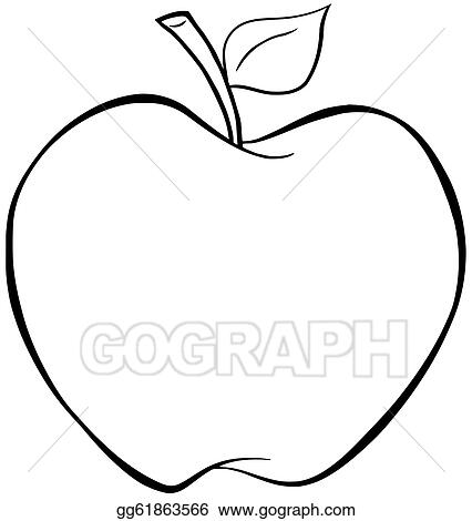 apple clip art royalty free gograph rh gograph com clip art of apple dumplings clip art of apple pie